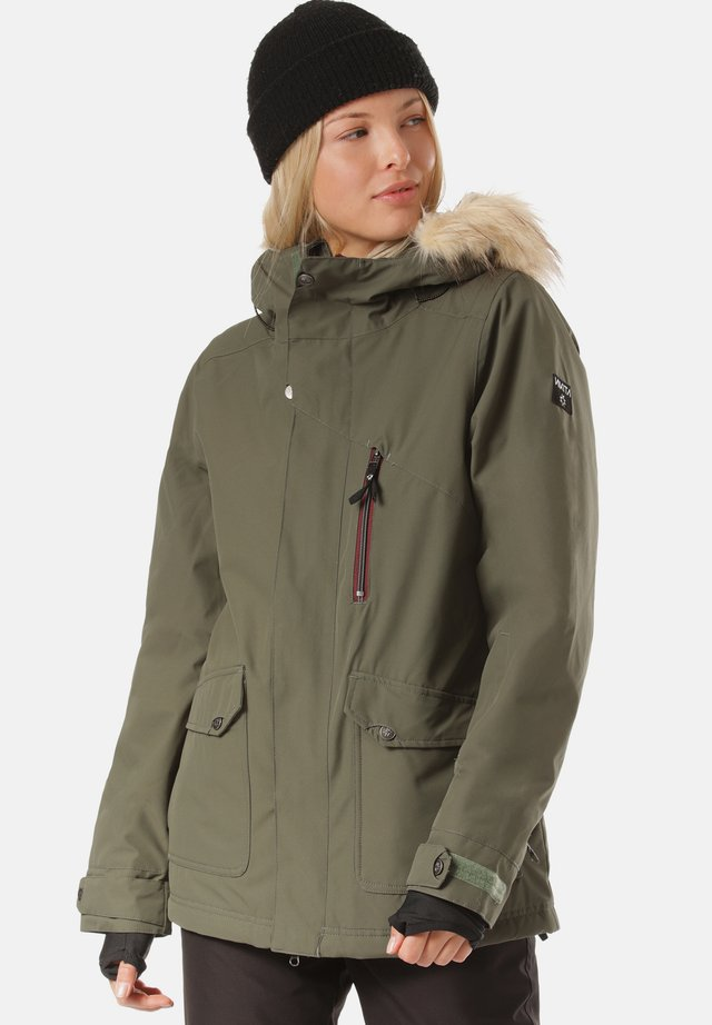 Snowboard jacket - sage