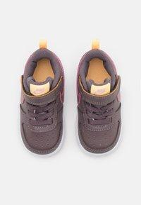 Nike Sportswear - COURT BOROUGH UNISEX - Sneakers - violet ore/pink glaze/melon tint - 3