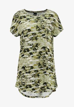 SELENA - T-shirt imprimé - green tie dye