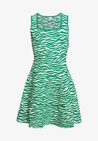 Milly - ABSTRACT ZEBRA FIT - Jumper dress - leaf/white - 5