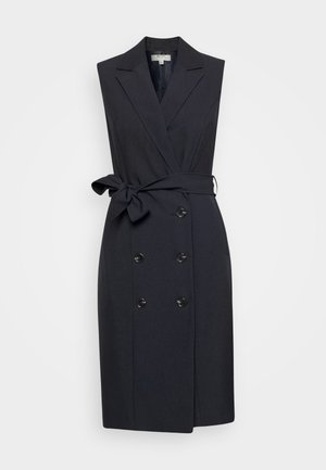 PETITES TRENCH DRESS - Vestido camisero - navy