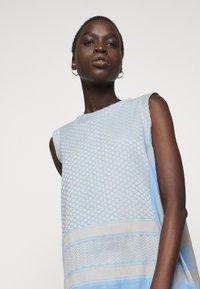 CECILIE copenhagen - DRESS  - Denní šaty - blue - 4