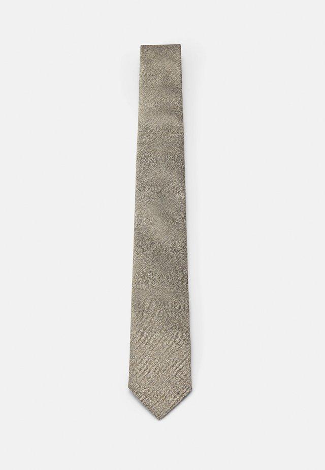 TIE SLIM - Cravatta - gelb
