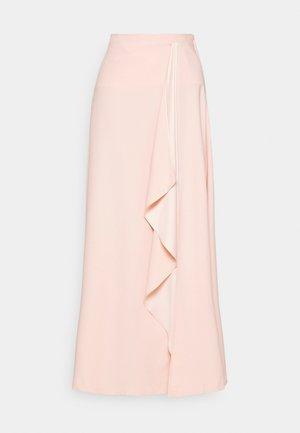 CASCADE LONG SKIRT - Maxi sukně - mellow blush