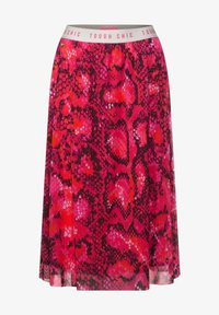 Street One - Pleated skirt - rot - 3