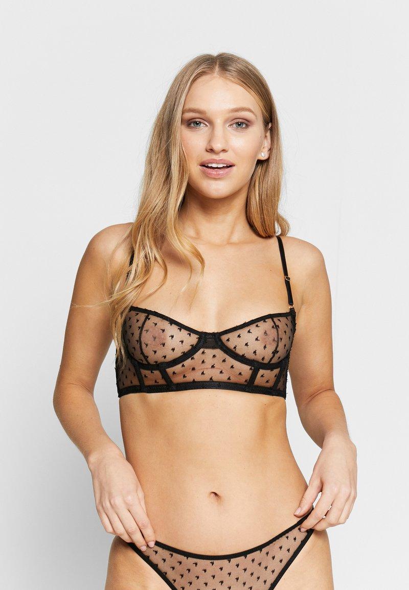 Le Petit Trou - GORSET ESCALA - Underwired bra - black