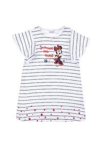 Mickey & Minnie - MINNIE MOUSE BABYKLEID MIT HAARBAND - Jersey dress - dunkel blau - 1