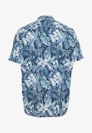 HAWAIIAN PRINT - Shirt - blue