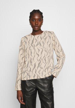 SHOBU - Långärmad tröja - beige