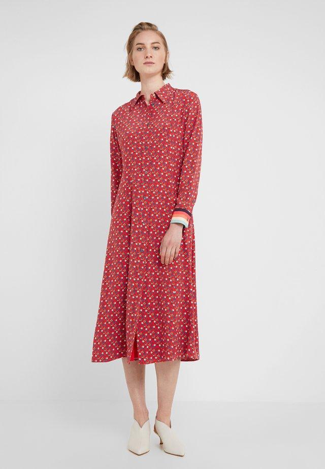 Robe chemise - rot
