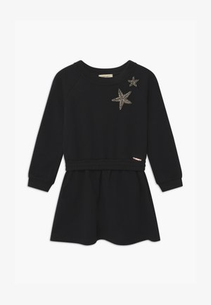 RICAMO STELLE - Day dress - nero