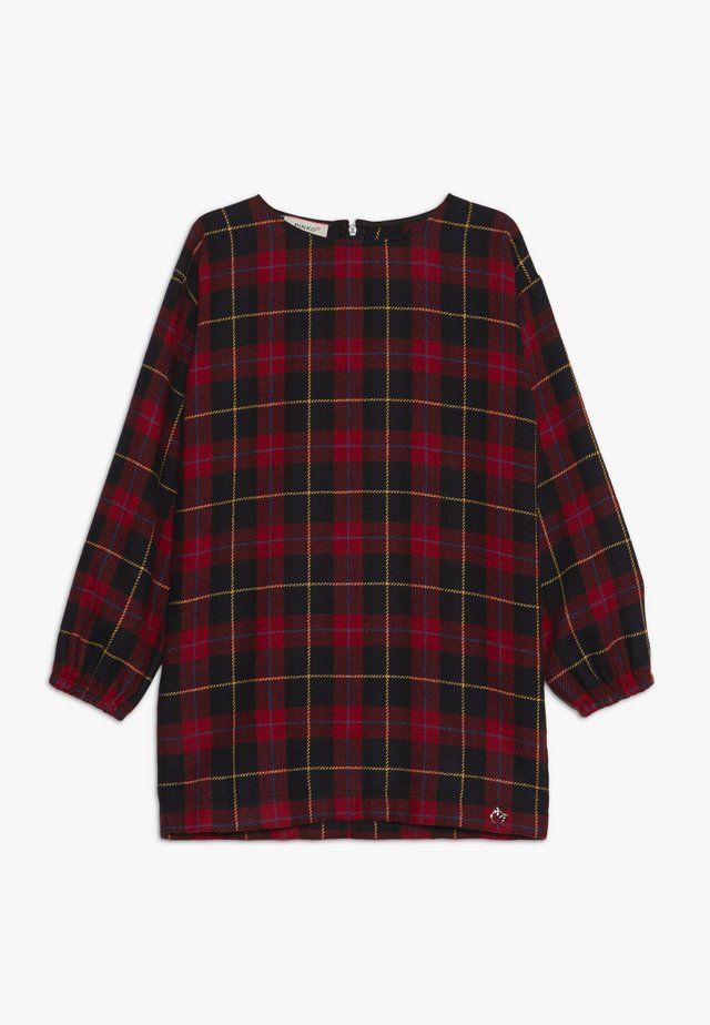 MAGISTRATO ABITO TARTAN CHECK - Kjole - red/black