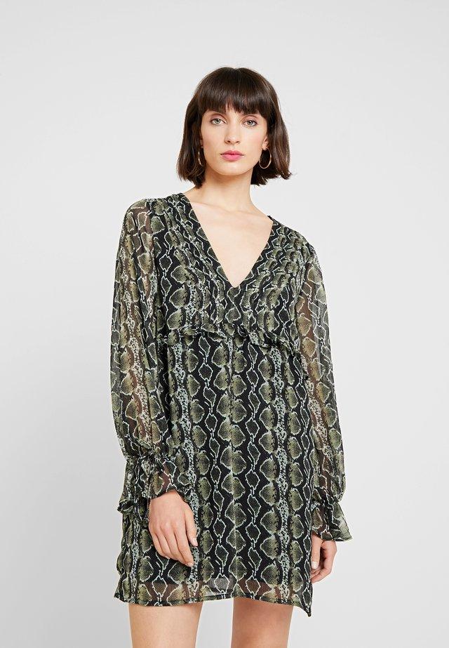 VALENCIA DRESS - Vestito estivo - olive