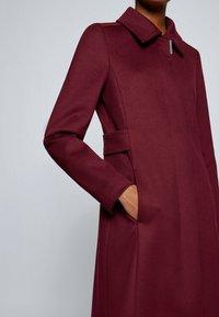 BOSS - CASENA - Classic coat - dark red - 4
