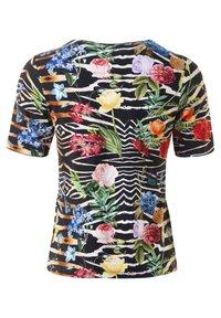 Clarina - CLAUDIA - TOPP  - Print T-shirt - schwarz - 1