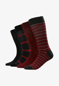 Calvin Klein Underwear - 4 PACK - Sukat - dark red/black/bordeaux - 1