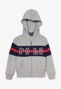 Polo Ralph Lauren - HOOD - Bluza rozpinana - andover heather - 2