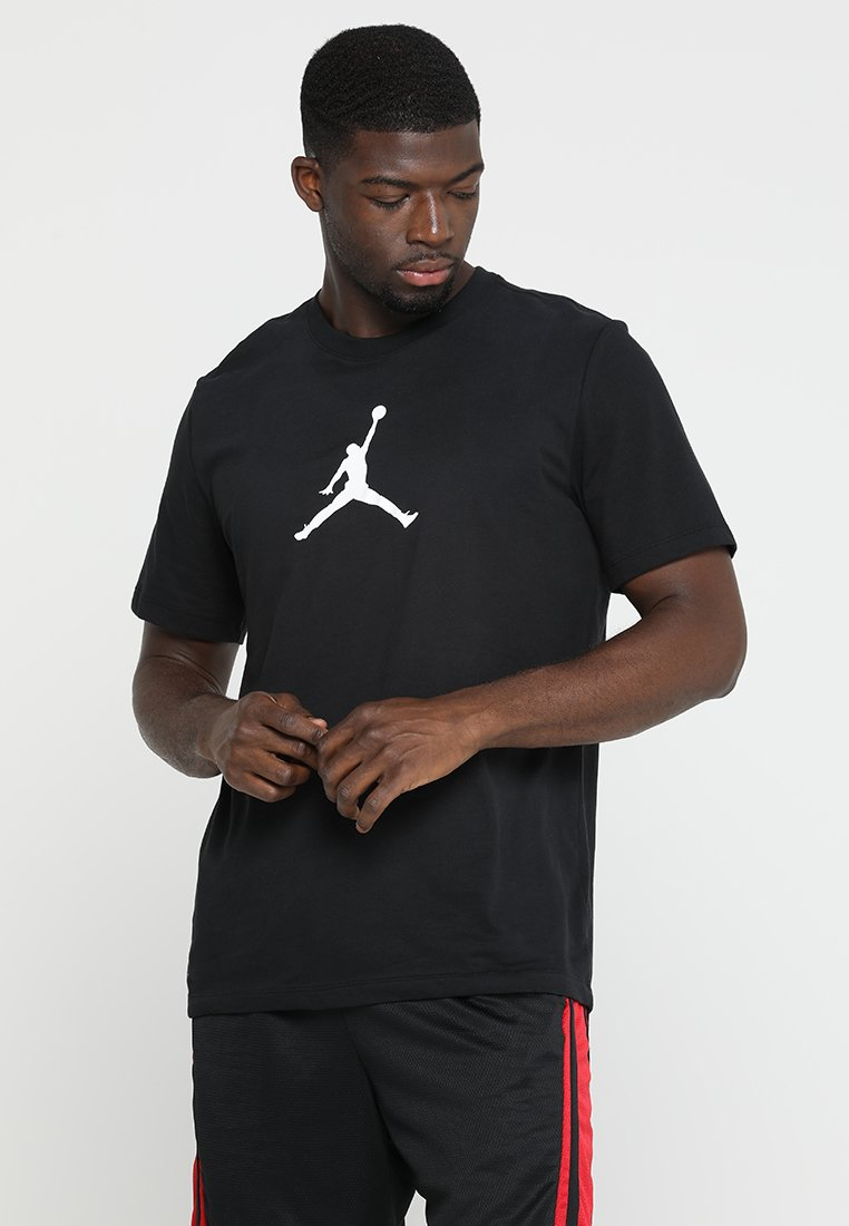 Jordan - ICON TEE - Print T-shirt - black/white