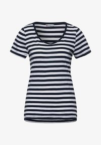 Street One - IM STREIFEN - Print T-shirt - blau - 3