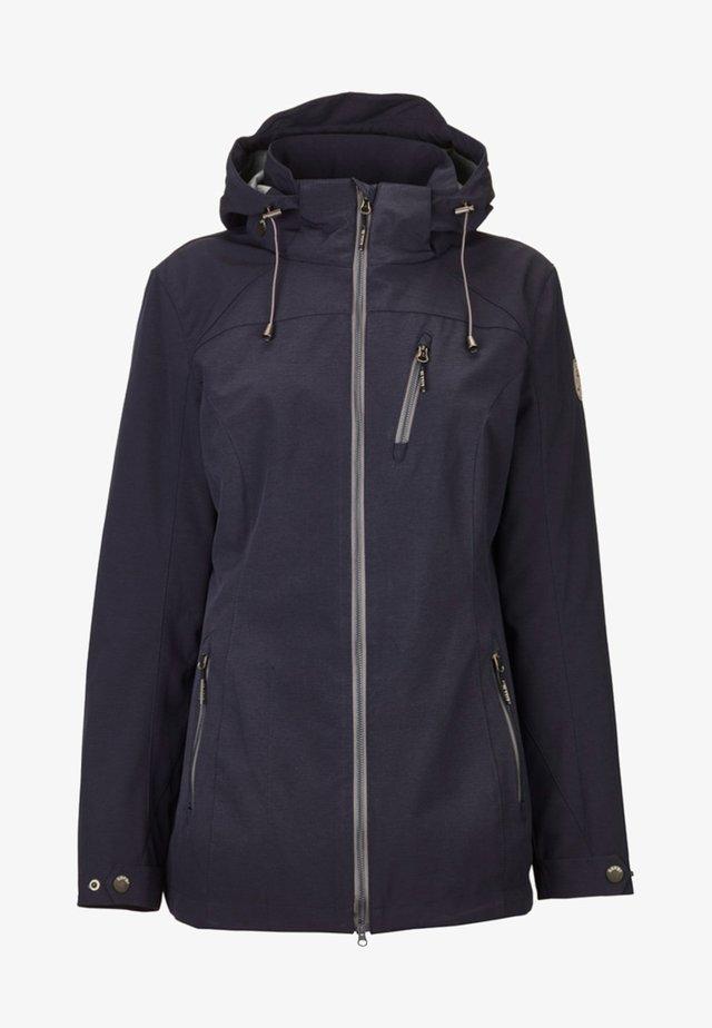 SOLENA - Soft shell jacket - dark blue