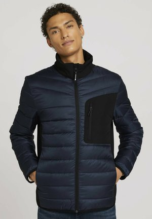 HYBRID MIT STEHKRAGEN - Down jacket - sky captain blue
