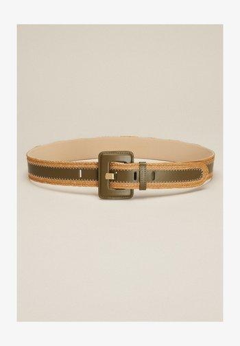 DIALOGO - Cintura - verde militare/cammello