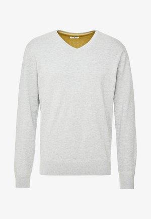 Maglione - light soft grey melange