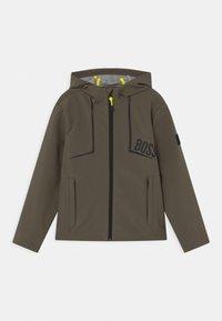 BOSS Kidswear - Sportovní bunda - khaki - 0