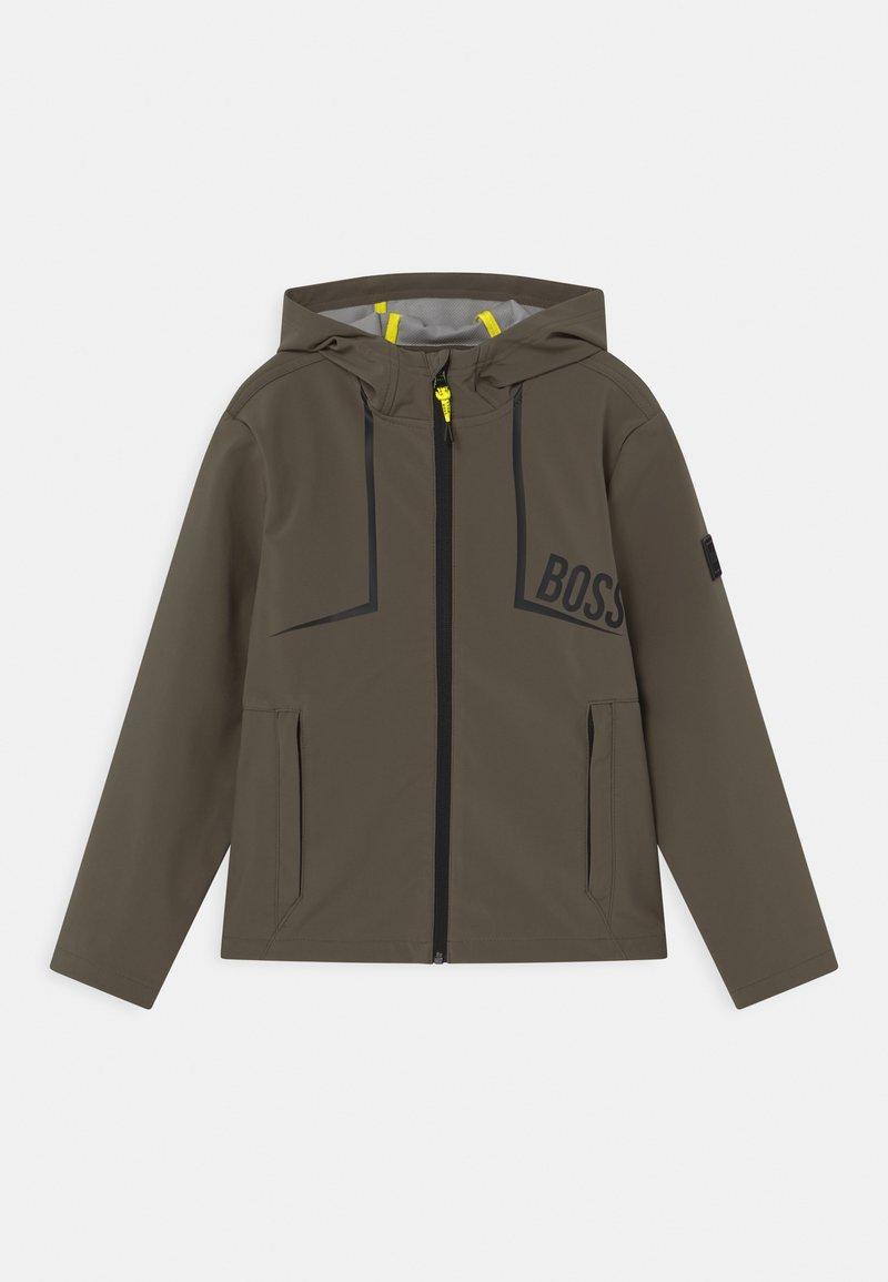 BOSS Kidswear - Sportovní bunda - khaki