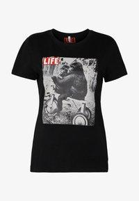 ONLFLIFE - Print T-shirt - black