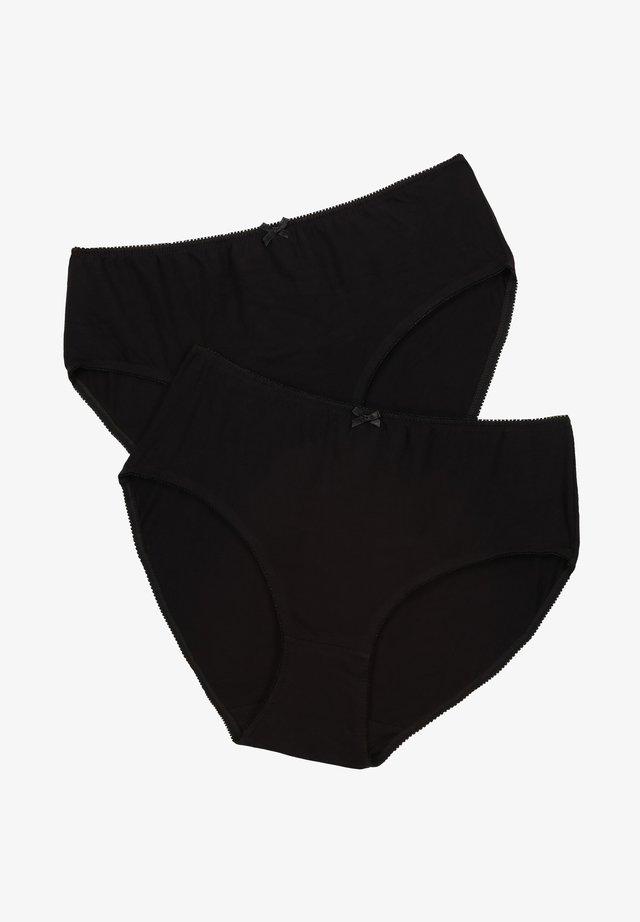 2-PACK  - Slip - schwarz