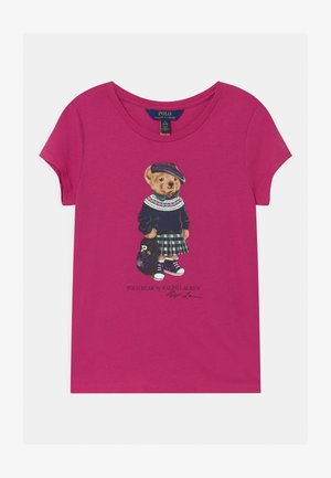 BEAR - Print T-shirt - college pink