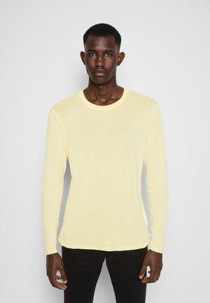 EDWARDS - Longsleeve - light yellow