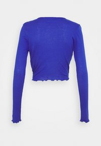 NU-IN - FRONT WRAP LONG SLEEVE - T-shirt à manches longues - blue - 1