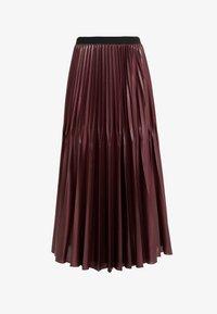 Marella - SUPER - A-line skirt - bordeaux - 4