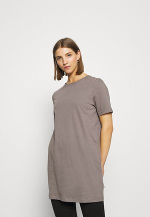 ONLBAILEY LONG - Basic T-shirt - dark grey