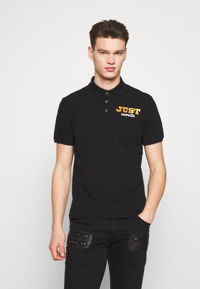 LOGO - Koszulka polo - black