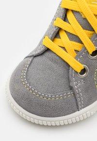 Superfit - MOPPY - Baby shoes - grau/gelb - 5