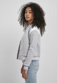 Urban Classics - Zip-up hoodie - grey white - 2