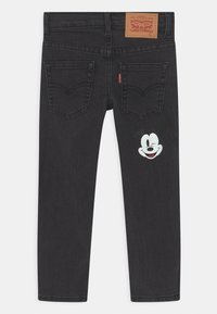 Levi's® - MICKEY MOUSE 511 SLIM UNISEX - Jeans slim fit - washed black - 1