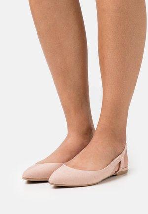 ONLANAS LIFE - Slingback ballet pumps - beige