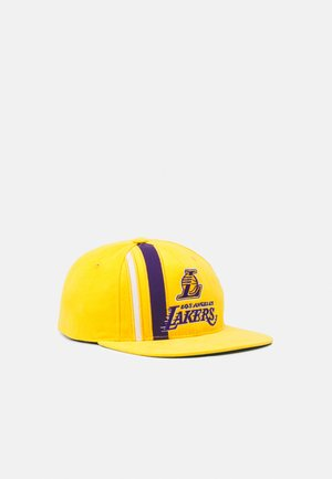 NBA LOS ANGELES LAKERS TEAM STRIPE DEADSTOCK - Kšiltovka - yellow