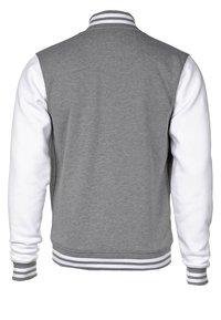 Color Industry - CONTRAST COLLEGE - Lehká bunda - grey/white - 1