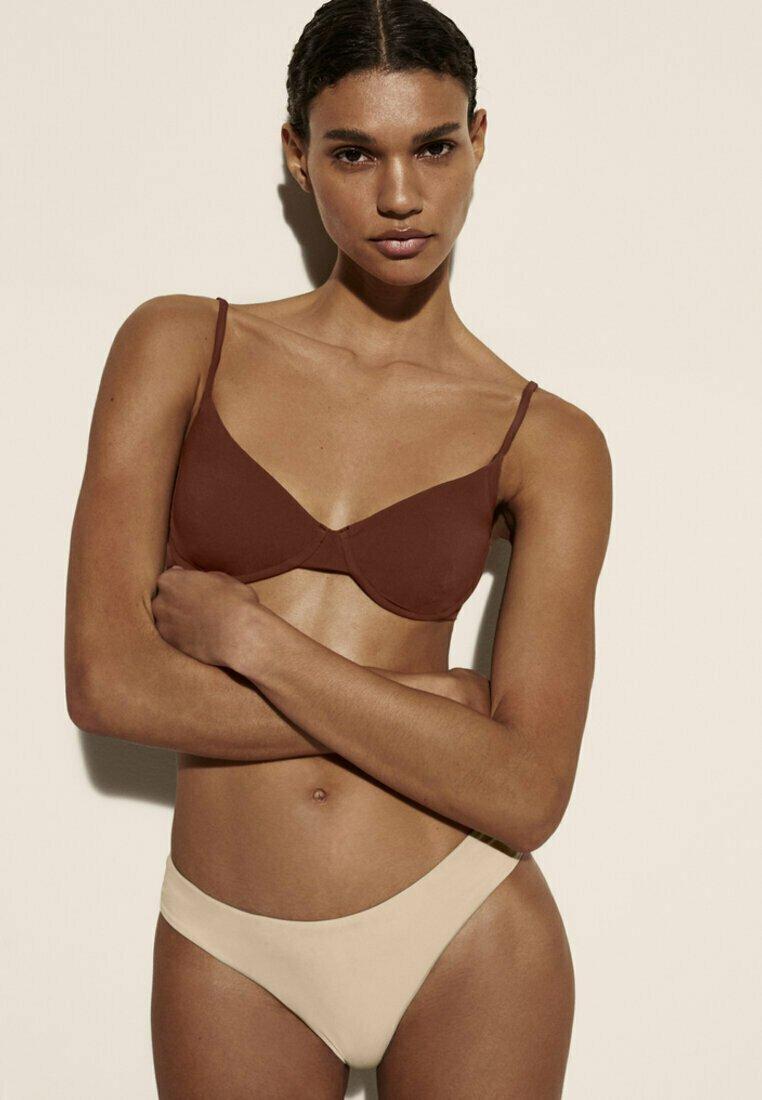 Massimo Dutti - Bikini bottoms - beige