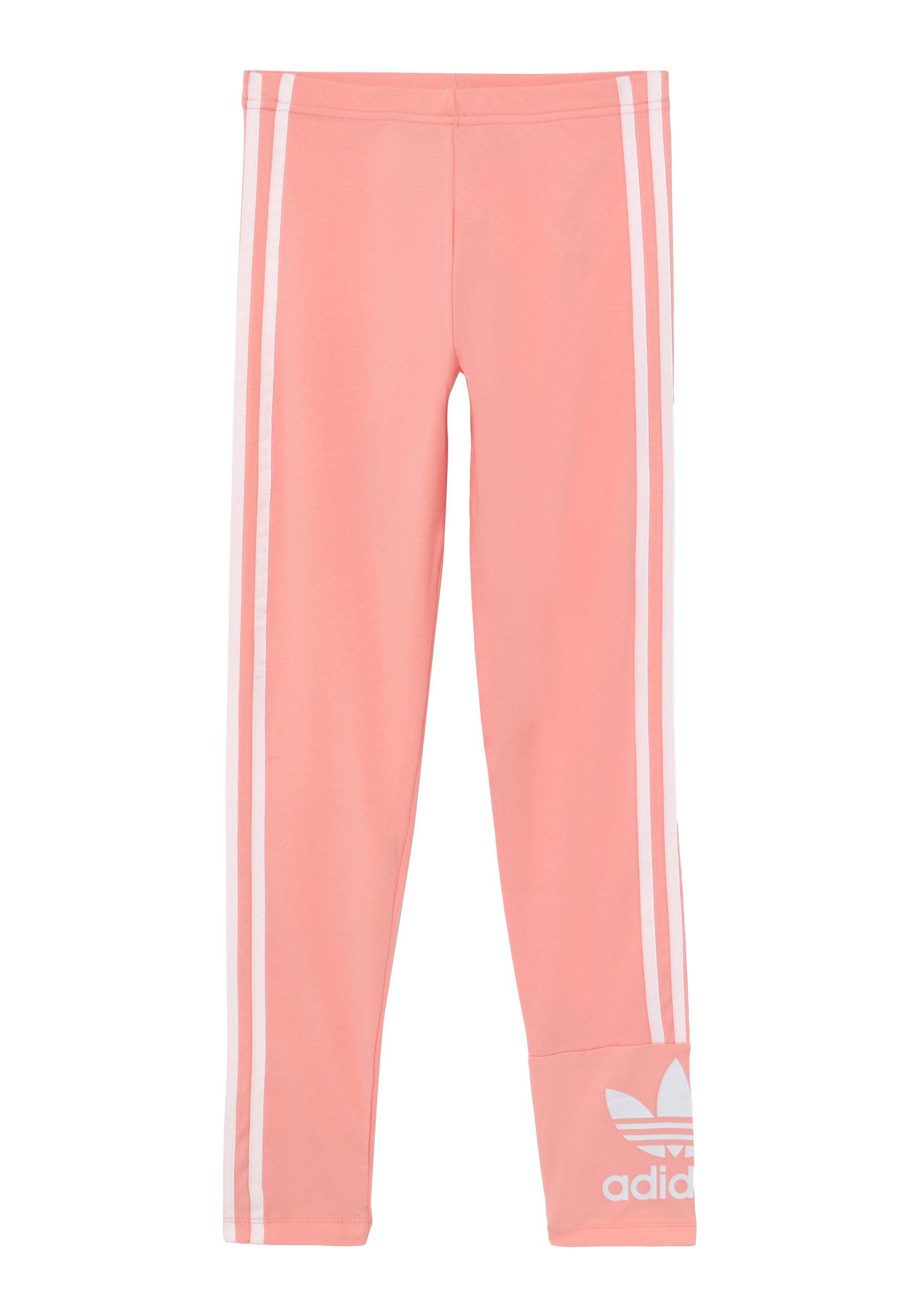 Adidas Originals Lock Up Tights - Leggings Trousers Pink/white