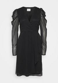 Vila - VIELLIAN DRESS - Day dress - black - 4