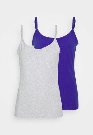 2 PACK - Toppi - dark blue/mottled light grey