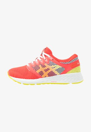 ROADHAWK FF 2 - Neutral running shoes - laser pink/sour yuzu