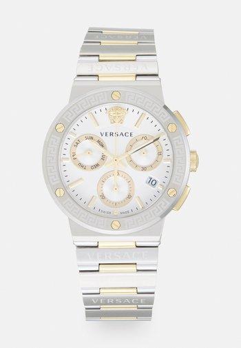 GRECA LOGO CHRONO - Zegarek chronograficzny - silver-coloured