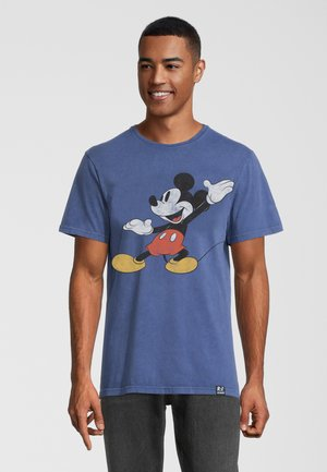 DISNEY MICKEY MOUSE POSING - T-shirt print - blau